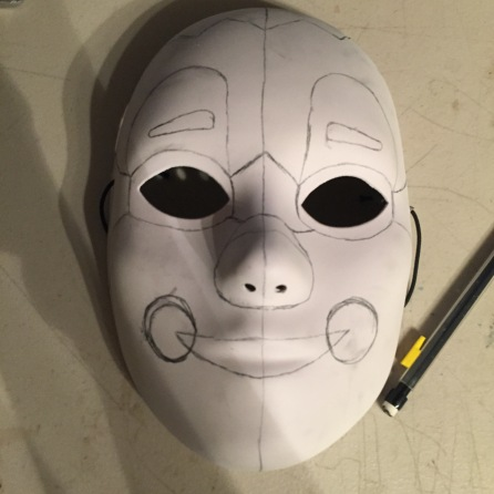 fnaf-baby-mask-with-pencil-markings